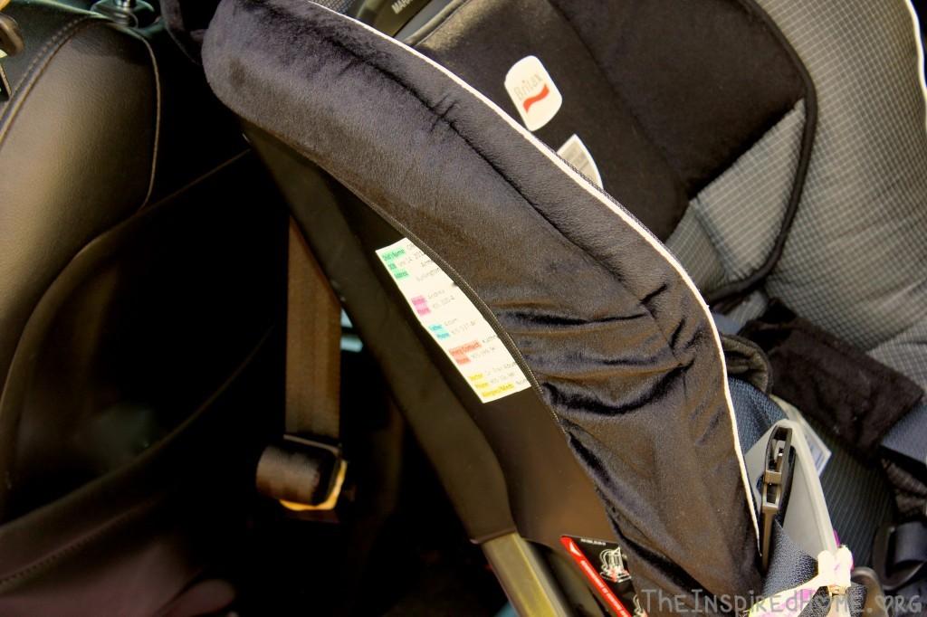 Car Seat Emergency Label