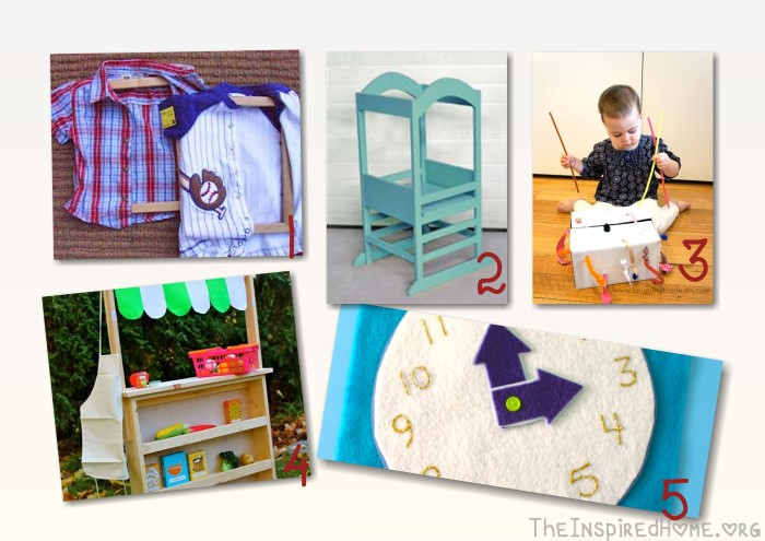 Do It Yourself Toddler Gifts