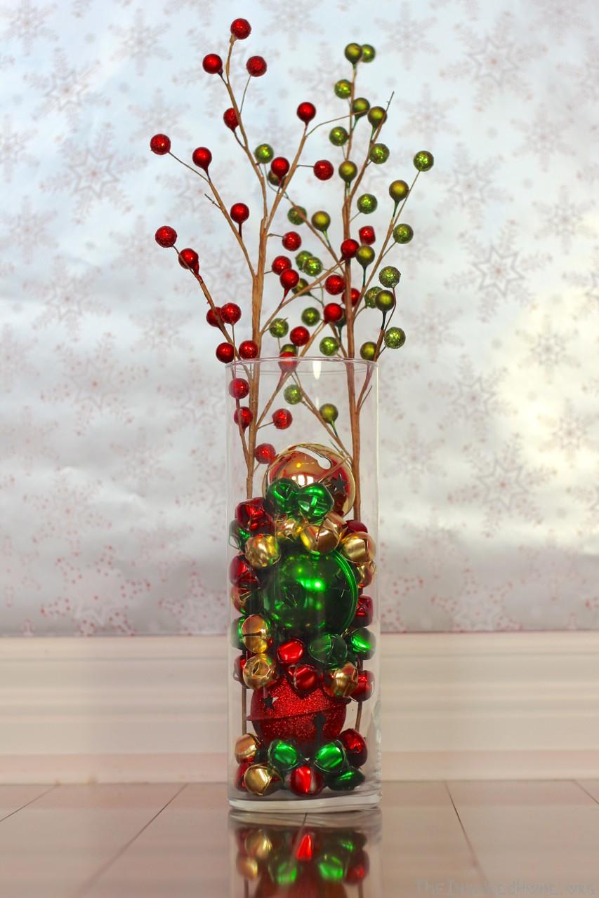 jingle bell vase filler