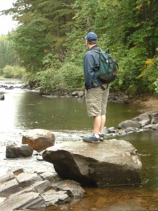 Hiking in Algonquin Park, Becoming a Stronger Outdoor Family
