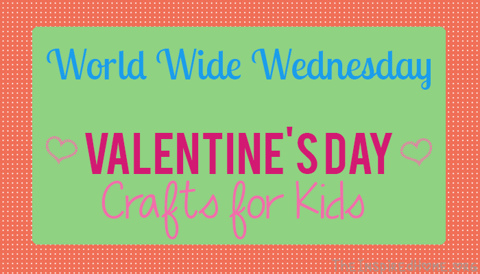 A collection of Valentine's Day Crafts for Kids from TheInspiredHome.org