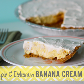 Simple Banana Cream Pie
