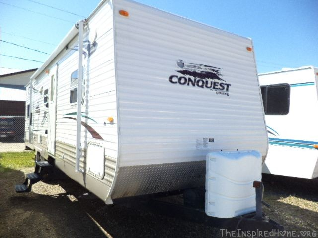 Get Outdoors: So We Bought A RV! 2009 Conquest 29BHS Travel Trailer