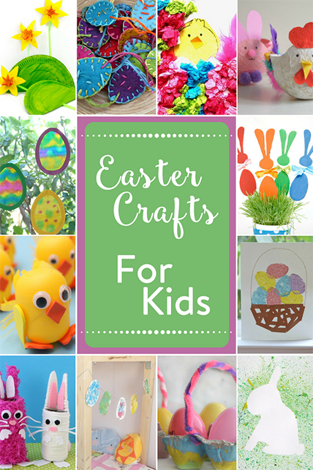 TheInspiredHome.org // Easter Crafts For Kids