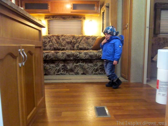 So We Bought An RV Trailer Inspection
