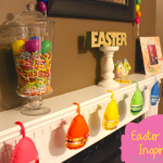 TheInspiredHome.org // Easter mantel inspiration including tutorials