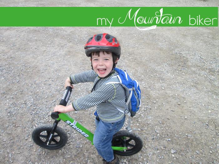 my mountain biker