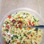 TheInspiredHome.org // Gluten-Free Colourful Pasta Salad