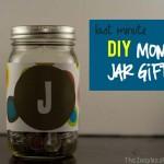 TheInspiredHome.org // Last Minute Gifts, DIY Money Jar