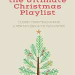 TheInspiredHome.org // the Ultimate Christmas Playlist. Classic Christmas Songs and Modern Rock Favourites #SoundsoftheHolidays