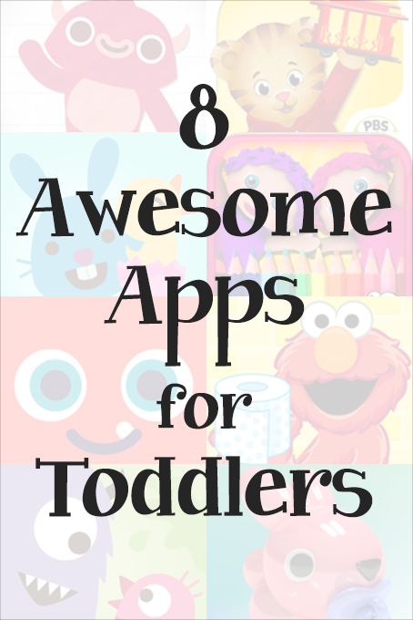 TheInspiredHome.org // 8 Awesome Apps for Toddlers for iPad, iPhone and Android. Includes both free & paid apps that are educational and fun!