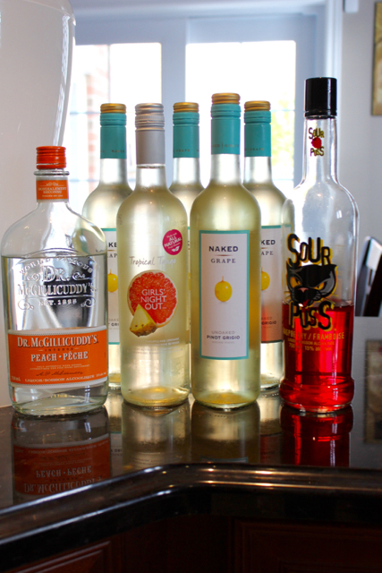 TheInspiredHome.org // Peachy White Wine Sangria
