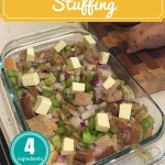 TheInspiredHome.org // 4 Ingredient, Easy to Make Stuffing