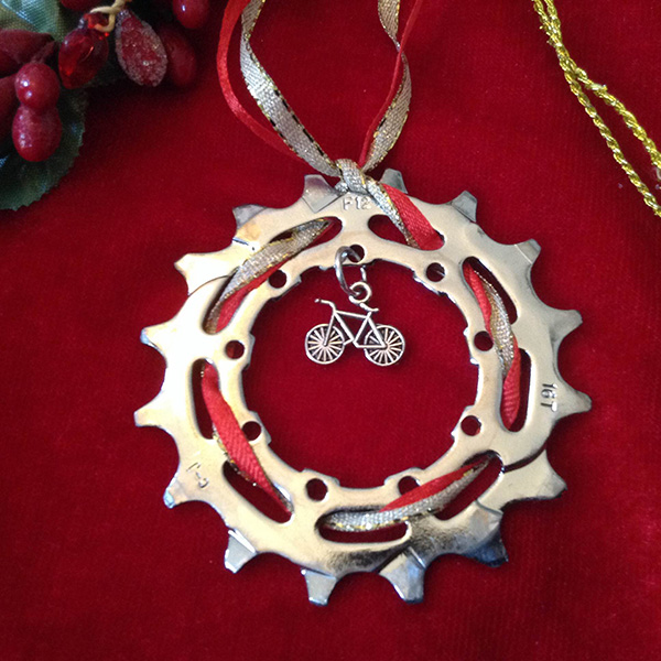 bike gear ornament