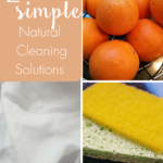 TheInspiredHome.org // 2 Simple Natural Cleaning Solutions to try out this spring with your spring cleaning!