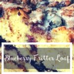 TheInspiredHome.org // Lactose-Free Blueberry Fritter Loaf