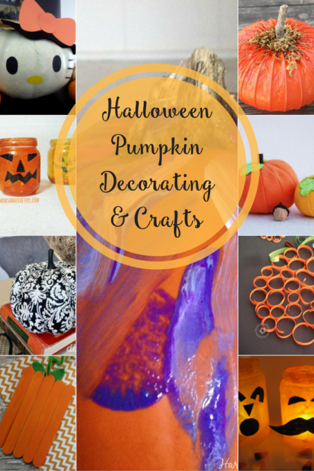 TheInspiredHome.org // Halloween Pumpkin Decorating & Crafts