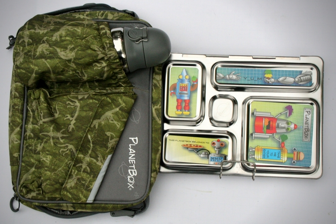 TheInspiredHome.org // Bento Lunchbox Ideas Planet Box