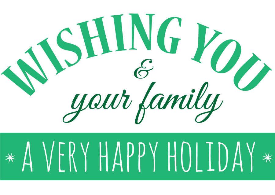 TheInspiredHome.org // 6 Printable DIY Holiday Cards