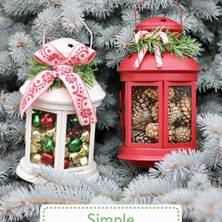 Simple Holiday Lanterns