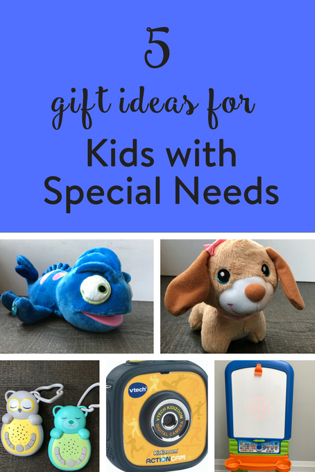 TheInspiredHome.org // gift ideas for kids with special needs