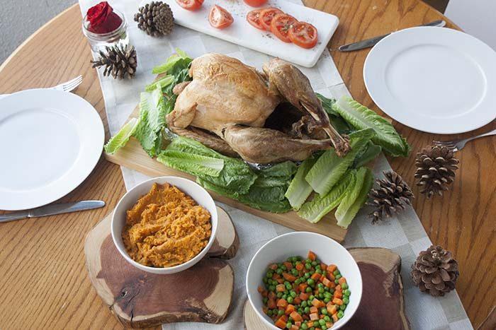 TheInspiredHome.org // Gluten Free Turkey Dinner. How to Know If Your Turkey Is Gluten-Free.