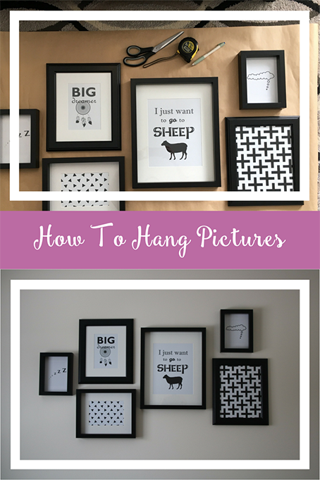 TheInspiredHome.org // How To Hang Pictures