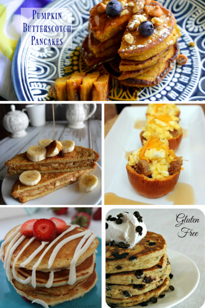 TheInspiredHome.org // 10 Mother's Day Breakfast Ideas - Pancakes & French Toast