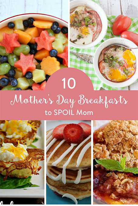 TheInspiredHome.org // 10 Mother's Day Breakfast Ideas