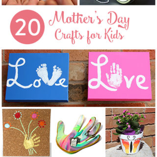 20 Mother's Day Crafts for Kids