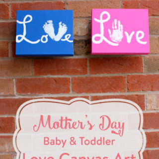 Mother's Day Canvas of Love {Tutorial}