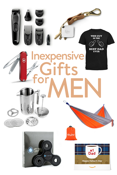 TheInspiredHome.org // Inexpensive Gifts For Men