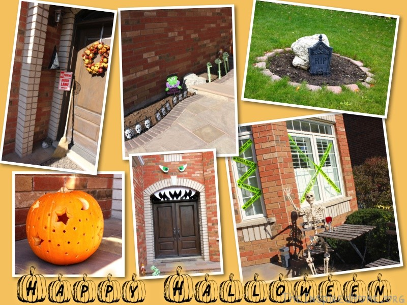 TheInspiredHome.Org // DIY Halloween Decorations // Outdoor Halloween Decor