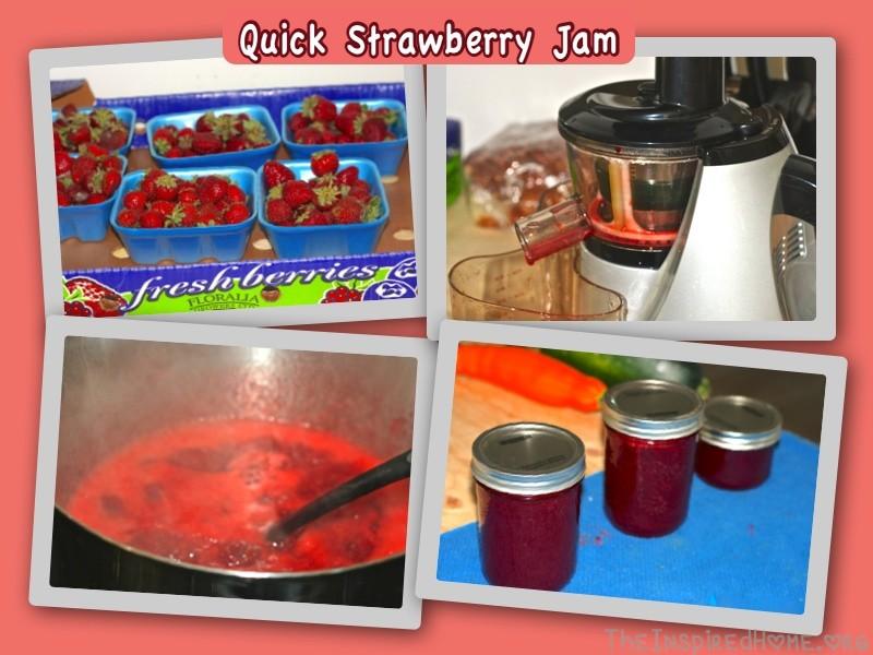 Quick Strawberry Jam