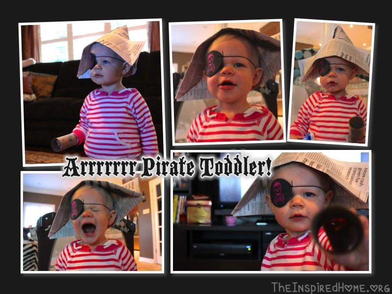 pirate toddler