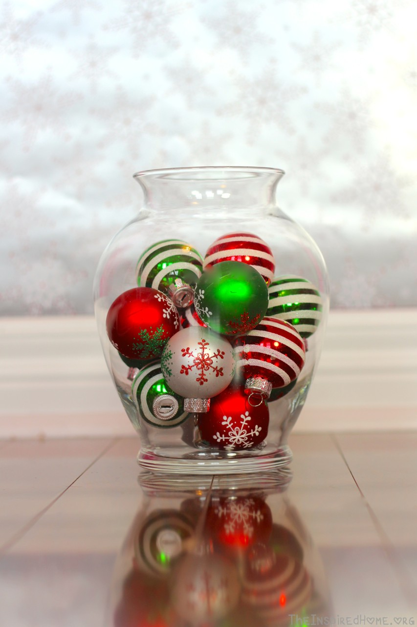 tree decoration vase filler