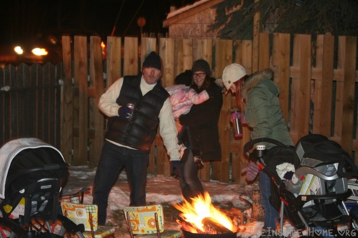 Santa Claus Parade Bonfire