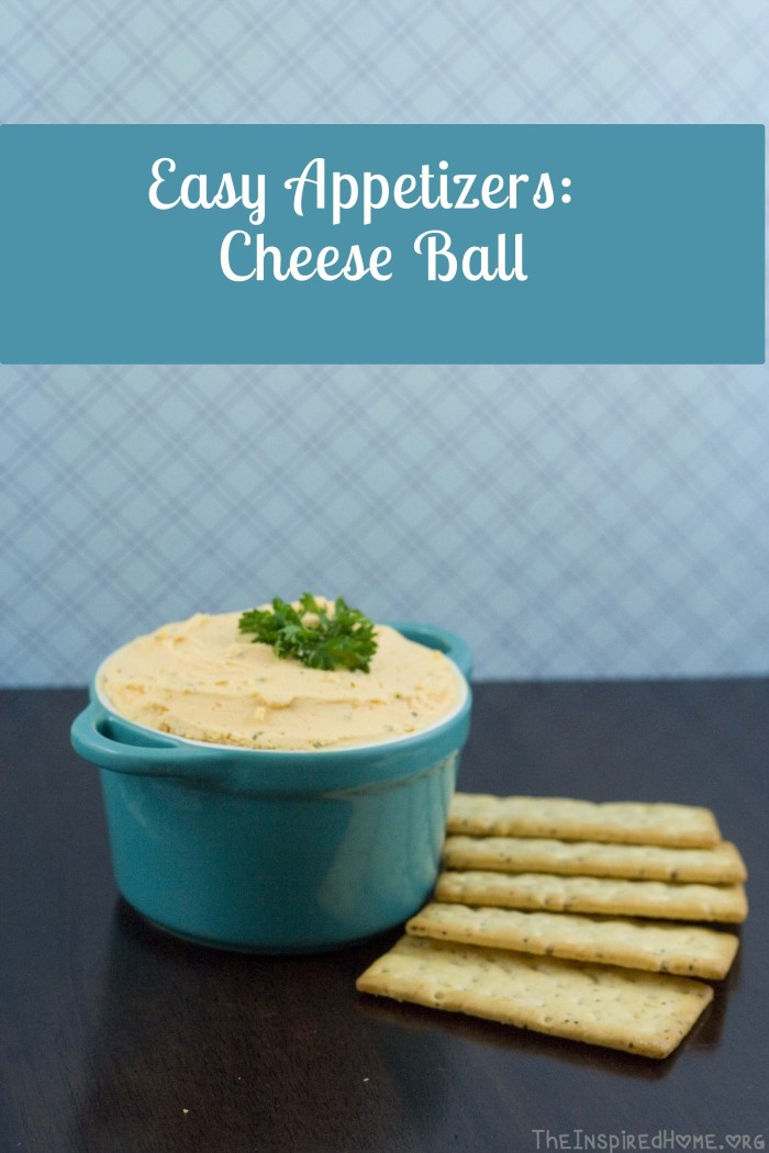 Easy Appetizers- Cheese Ball