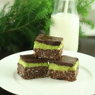 Gluten-Free Mint Nanaimo Bars