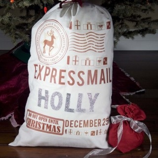 DIY Gifts: Santa Sack Two Ways