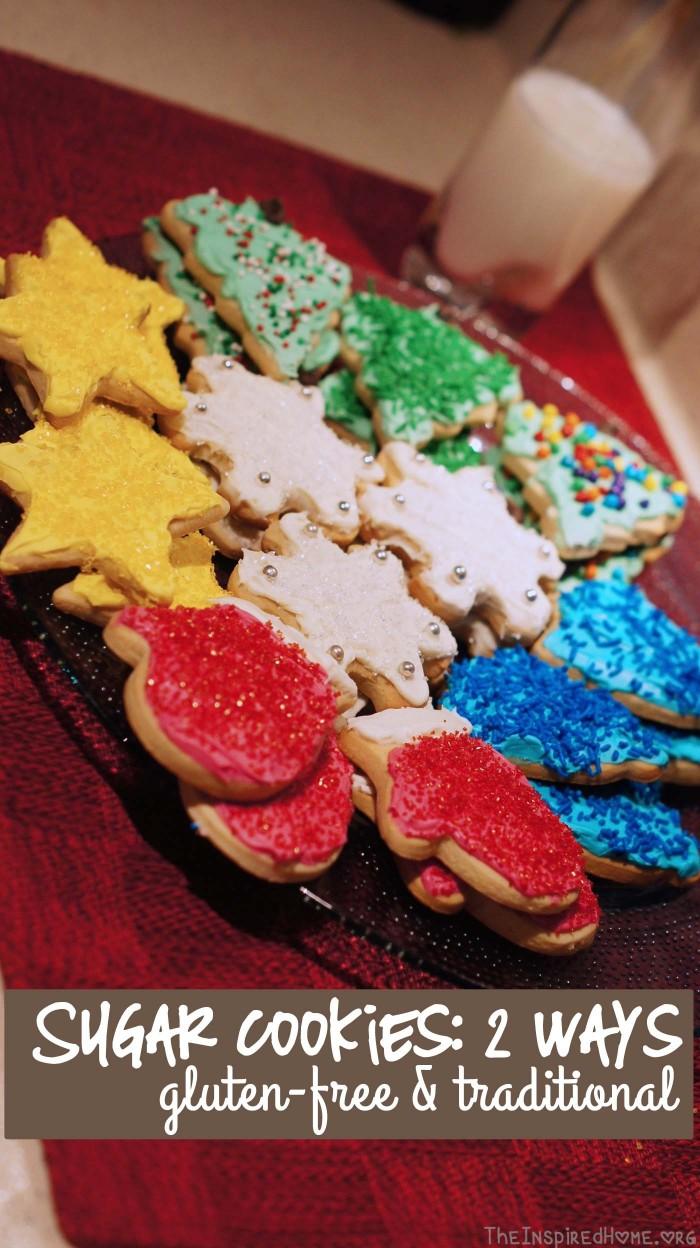 Sugar Cookies by theinspiredhome.org