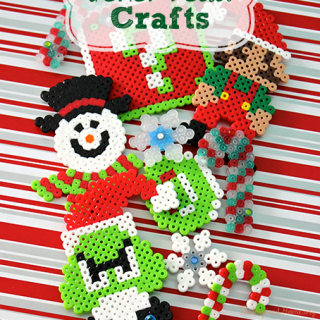 Christmas Perler Bead Crafts