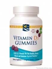 Vitamin D3 Gummies by Nordic Naturals Review by theinspiredhome.org