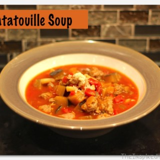 Scrumptious Saturday: Ratatouille Soup