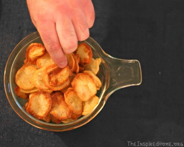 Homemade Potato Chips: Hands Off!