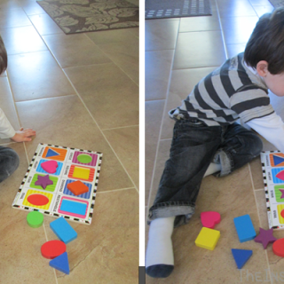 Montessori Monday: Colours and Mr. Puzzlemaster