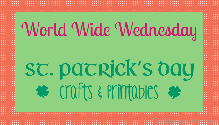 Check out some great St. Patrick's Day craft ideas and find some awesome free printables from TheInspiredHome.org