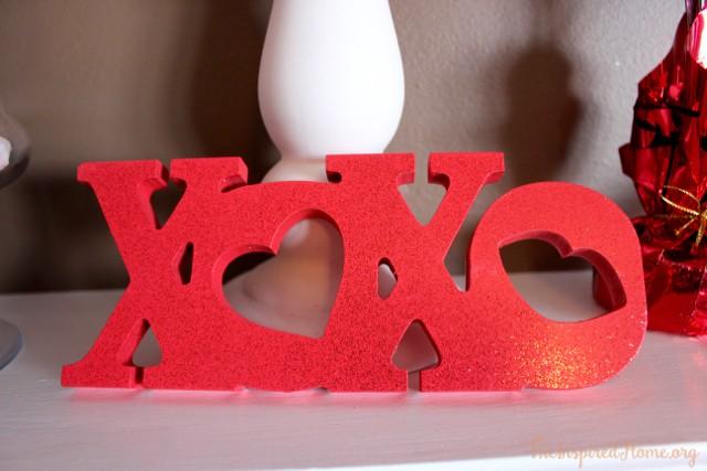 valentine mantel - 2