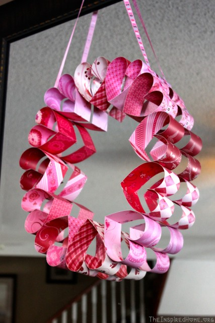 Valentines Day Wreath 2 Ways The Inspired Home