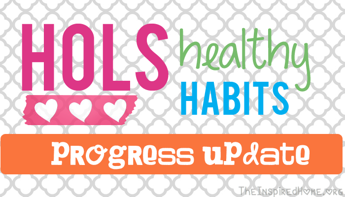 Hols Healthy Habits: Lose Weight progress